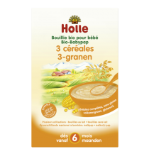 Organic Rice Porridge from 4M 250g Holle