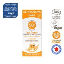 Organic Sun Milk SPF50+ Baby 50g Alphanova