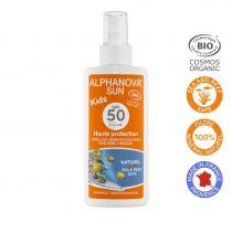 Organic Sun Spray High Protection Kids Spf50 125Ml Alphanova