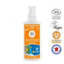 Organic Sun Spray High Protection Kids Spf50 125Ml Alphanova