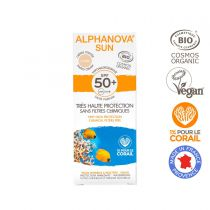 Organic Tinted Sun Cream High Protection Spf50 50G Alphanova