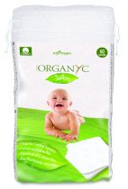 Organyc baby wipes Sweet Caress  60 pcs