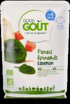 Panais épinards saumon 190g dès 6 mois Good Gout