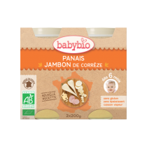 Panais Jambon Bio 2X200G 6M Babybio