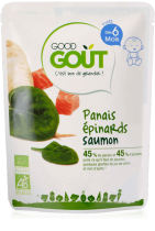 Parsnips Spinach Salmon 190g from 6 months