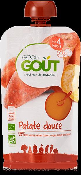 Patate Douce 120g dès 4 mois Good Gout