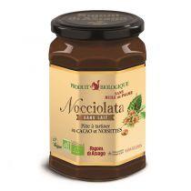 Pâte à tartiner cacao noisettes Nocciolata sans lait et sans gluten bio 700g
