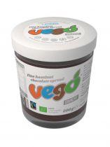 Pâte à Tartiner Chocolat Noisettes 200g Vego