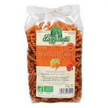 Pâtes 100% Farine De Lentilles Corail Bio 250G