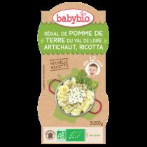 PDT Artichaut Ricotta 2x200g 12M Babybio