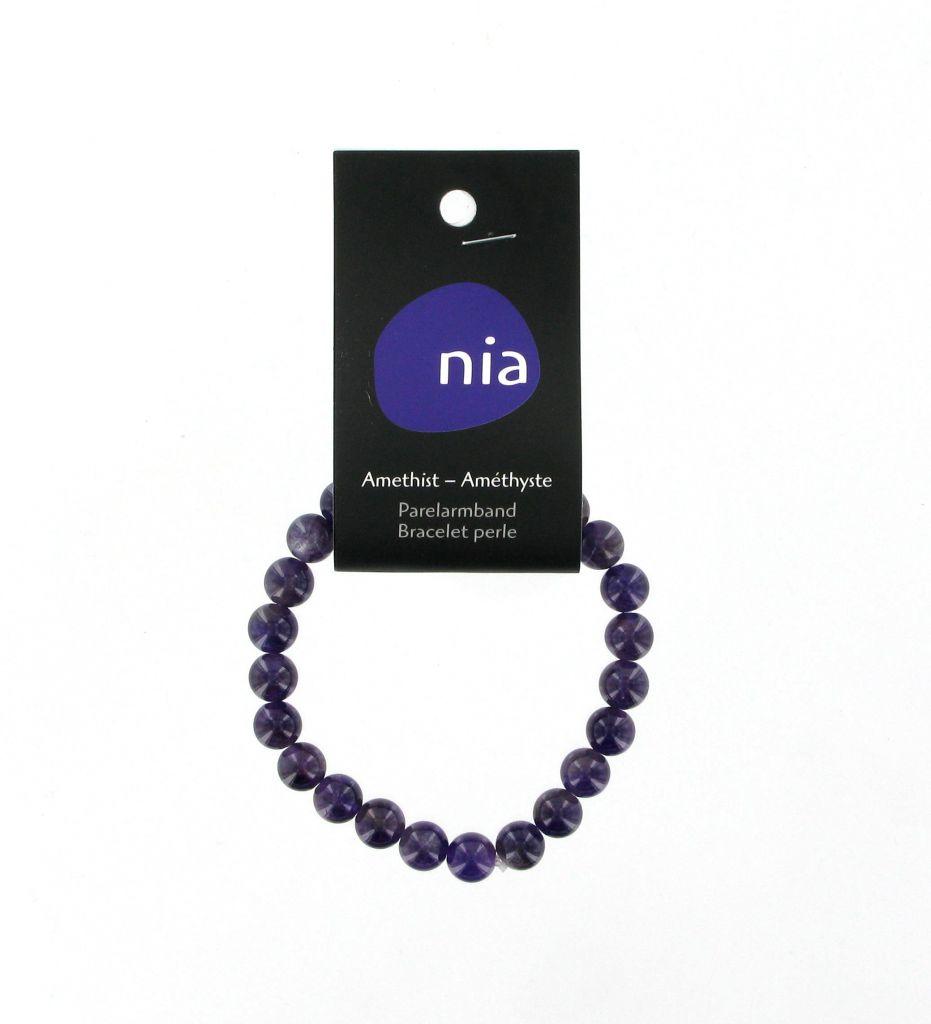 Pearl Bracelet Amethyst Nia