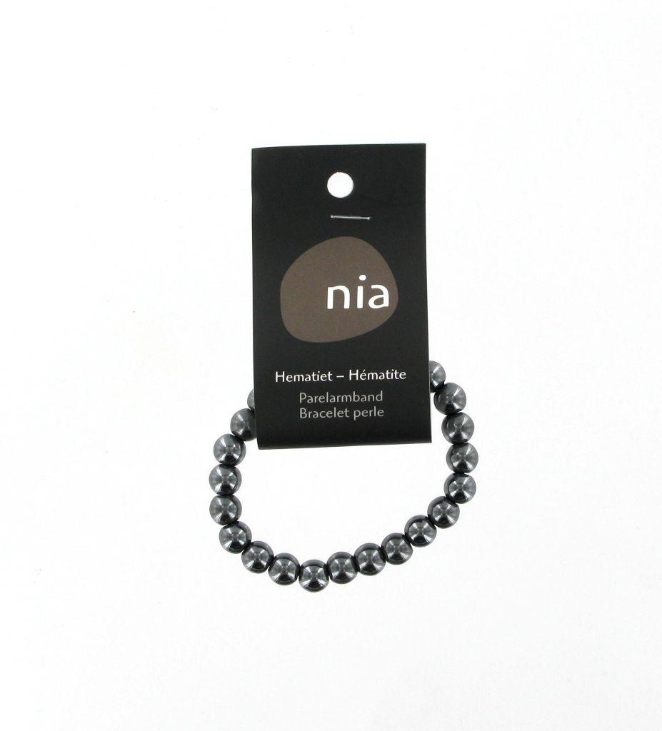 Pearl Bracelet Haematite Nia