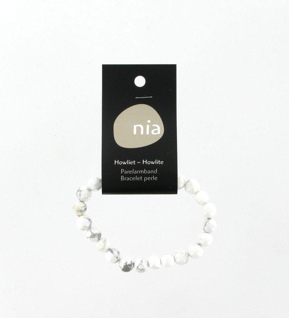 Pearl Bracelet Howlite Nia
