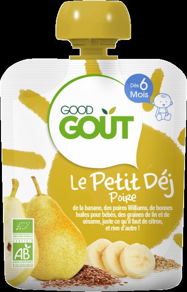 Petit Déjeuner Poire 70g 6M Good Gout