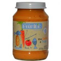 Petit Pot Bébé Carotte Truite Bio 200G