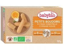 Petits Boudoirs Biscuits Baby Organic 120G Babybio