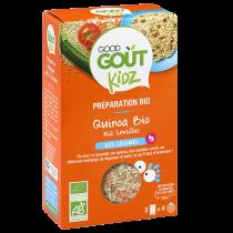 Plat Quinoa Riz Lentilles 240g Good Gout Kidz