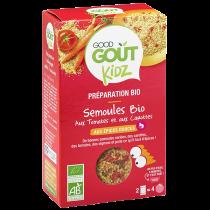 Plat Semoules Tomate Carotte 240g Good Gout Kidz