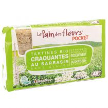 Pocket Tartines Craquantes Sarrasin 18.5g Pain des Fleurs