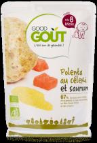 Polenta céleri saumon 190g dès 8 mois Good Gout