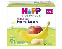 Pomme Bananes 4M 4x100g Hipp