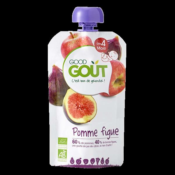 Pomme Figue 120g 4M Good Gout