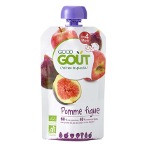 Pomme Figue 120g 4M Good Gout