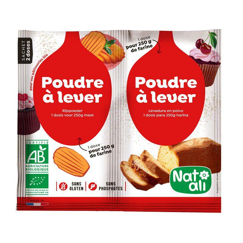 Poudre à Lever sans gluten 2x7g Natali