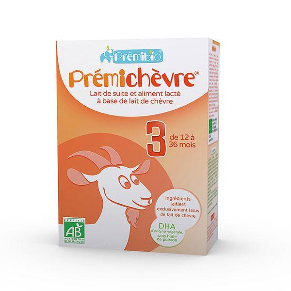 Prémichèvre 3ème âge bio - 12-36 mois 600g