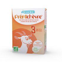 Premichèvre Baby Milk 6-12 Months 600G Premibio