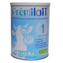 Prémilait Lait infantile 1er âge 0-6 mois 900g Premibio