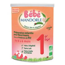 Préparation pour Nourrissons - 1er âge - De 0 à 6 mois Bébé Mandorle