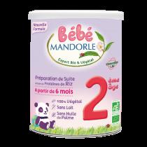Préparation pour Nourrissons - 2ème âge - Dès 6 mois Bébé Mandorle