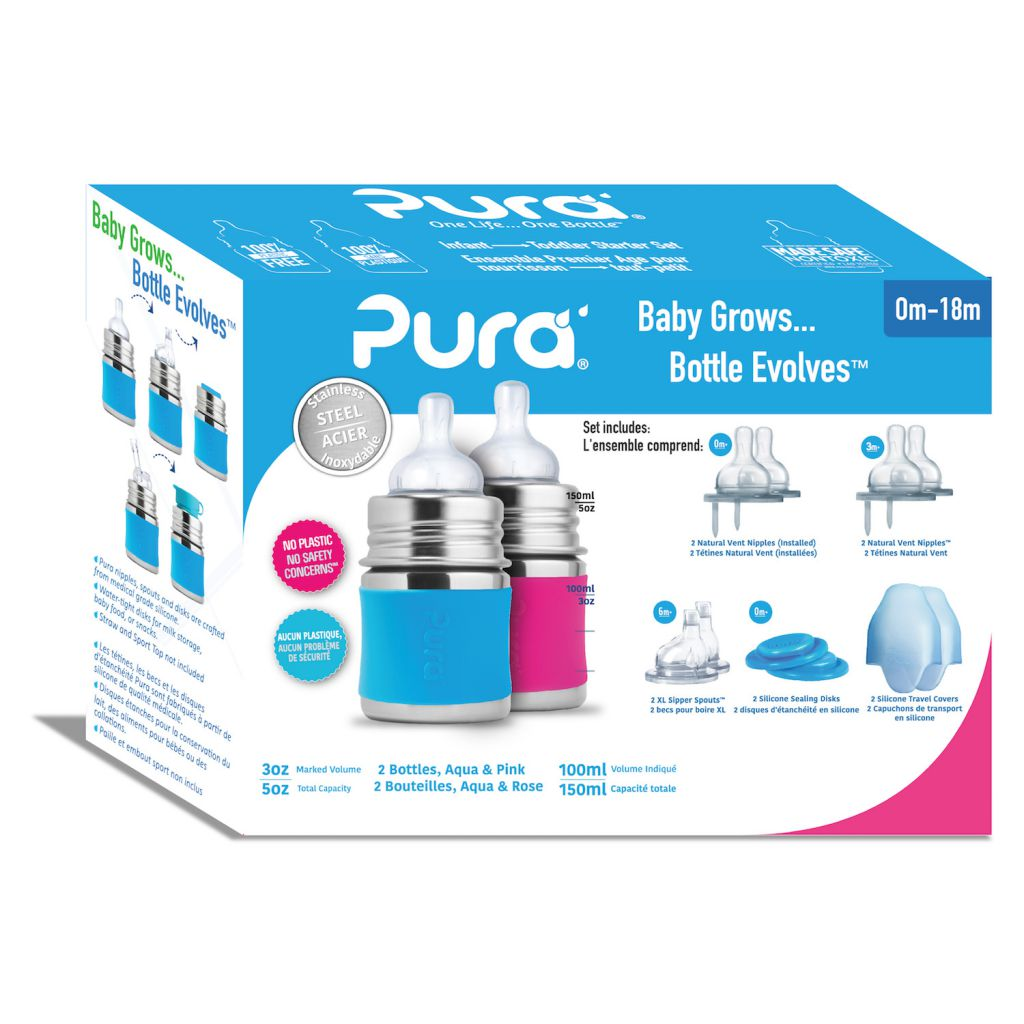 Pura Kiki Starter Kit Speenflessen 325ml