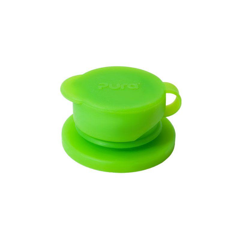 Pura silicone sleeve Lang Groen
