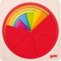 Puzzle Cercle Bois Goki