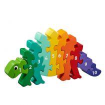 Puzzle Dinosaure 1-10 Lanka Kade