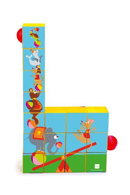Puzzle Roller Coaster Cirque Scratch