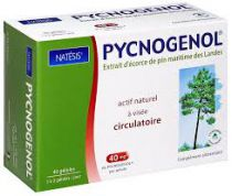 Pycnogénol Extrait D\'Écorce De Pin 40 Gel Natésis