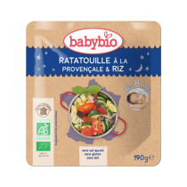 Ratatouille Provençale Organic Rice Good Night Sachet 190g 8M