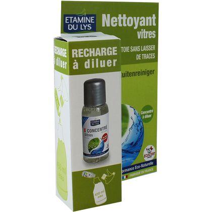 recharge diluer nettoyant vitres sans traces spray 50ml. Black Bedroom Furniture Sets. Home Design Ideas