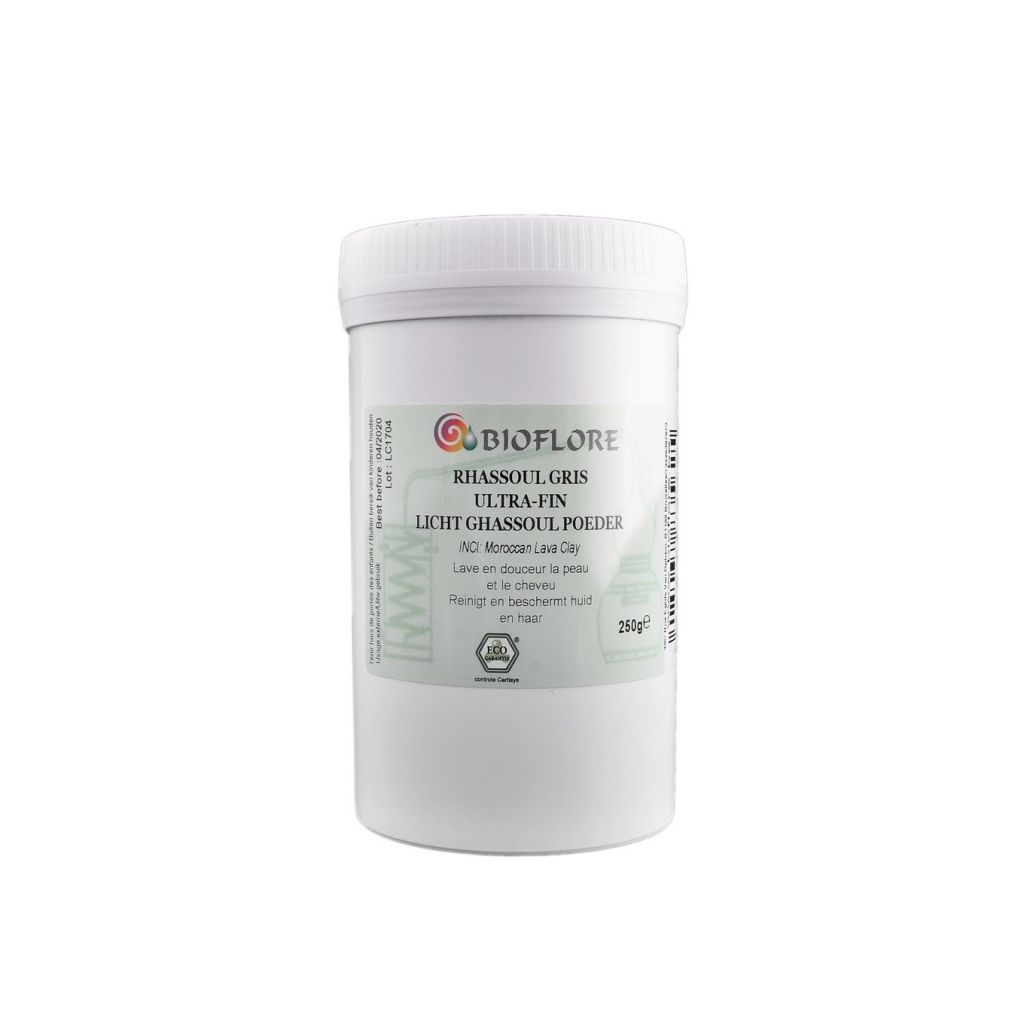 Rhassoul Gris Ultra Fin 250g Bioflore