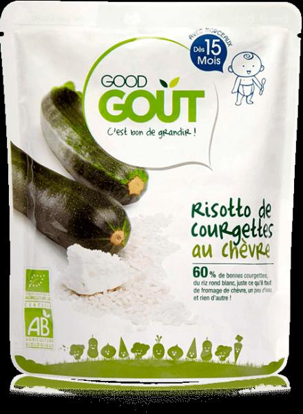 Risotto Courgettes Chèvre 220g dès 15M Good Gout