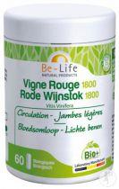 Rode Wijnstok Bio 1800 - Bio-Life 60 Caps