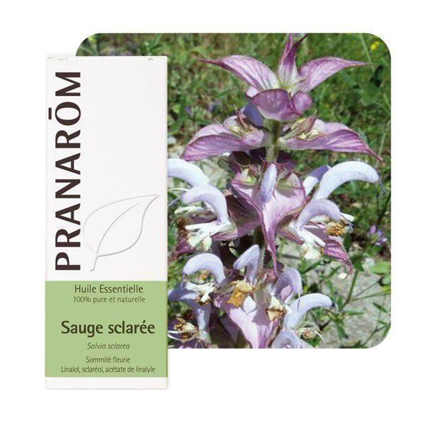 Sauge Sclarée huile essentielle bio 5ml Pranarom