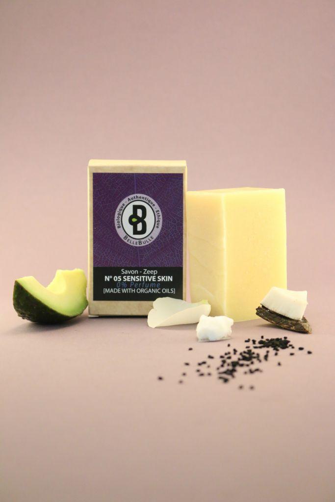 Savon Good Soap N°05 Highly Sensitive O% Parfum