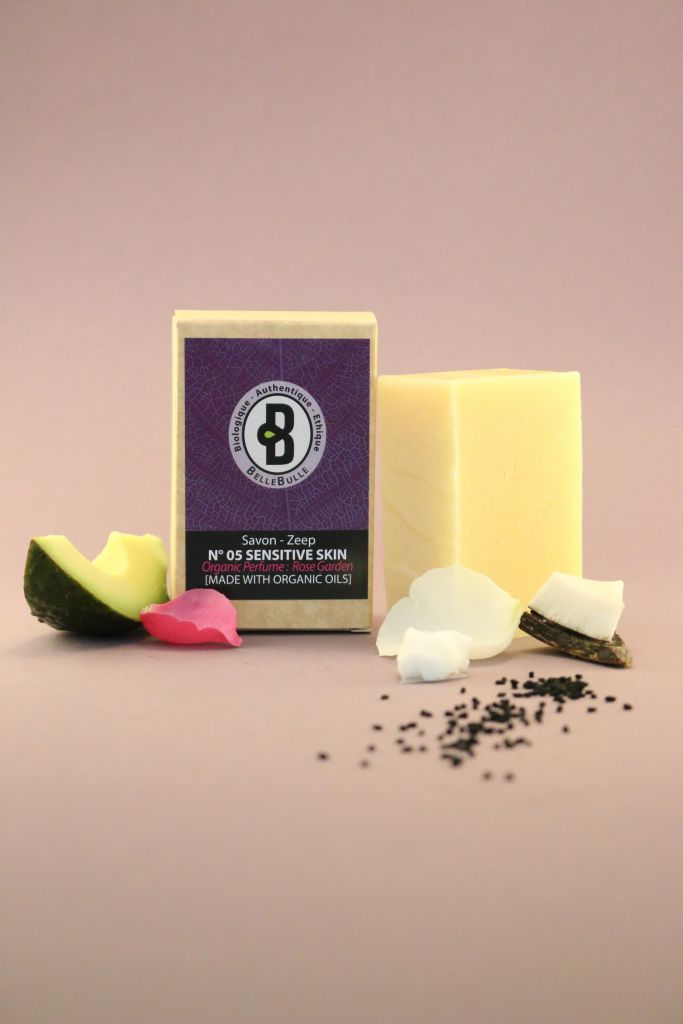 Savon Good Soap N°05 Highly Sensitive Rose Garden