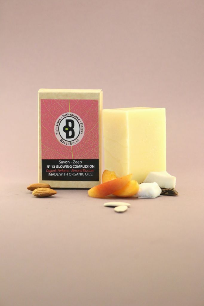 Savon Good Soap N°13 Glowing Complexion Bio Almond Blossom