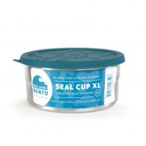 Seal Cup XL Boîte Ovale Inox Ecolunchbox