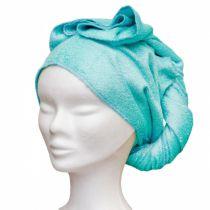 Serviette A Cheveux Bambou Bleu